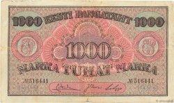 1000 Marka ESTONIE  1922 P.59a TB