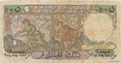 5 Nouveaux Francs type 1950 modifié 1959 ALGÉRIE  1959 P.118a pr.TB