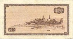 100 Kroner DANEMARK  1965 P.046d TB+