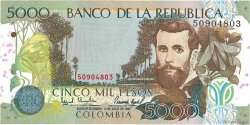 5000 Pesos COLOMBIE  1995 P.442a NEUF