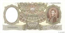 5000 Pesos ARGENTINE  1962 P.280b SPL