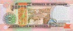50000 Meticais MOZAMBIQUE  1993 P.138 SPL