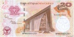 20 Kina PAPOUASIE NOUVELLE GUINÉE  2008 P.36a NEUF