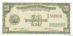 20 Centavos PHILIPPINES  1949 P.130b pr.NEUF