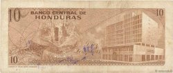 10 Lempiras HONDURAS  1974 P.057 TB