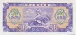 50 Won CORÉE DU NORD  1959 P.16 pr.NEUF