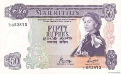 50 Rupees ÎLE MAURICE  1967 P.33c SPL