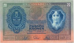 20 Kronen AUTRICHE  1907 P.010 SUP+