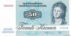 50 Kroner DANEMARK  1990 P.050h SUP