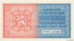 1 Koruna BOHÊME ET MORAVIE  1939 P.01a NEUF
