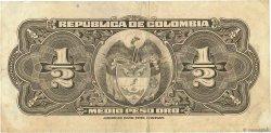 1/2 Peso Oro COLOMBIE  1948 P.345a TTB