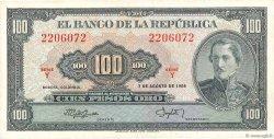 100 Pesos Oro COLOMBIE  1958 P.403a SUP+