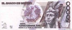 50000 Pesos MEXIQUE  1990 P.093b SPL