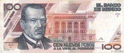 100 Nuevos Pesos MEXIQUE  1992 P.098 TTB
