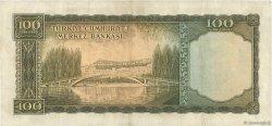 100 Lira TURQUIE  1952 P.167a TTB