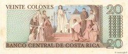 20 Colones COSTA RICA  1981 P.238c NEUF