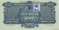 1000 Korun TCHÉCOSLOVAQUIE  1945 P.057s NEUF