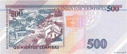 500 Lempiras HONDURAS  1998 P.078b NEUF