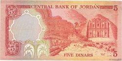 5 Dinars JORDANIE  1975 P.19c TB