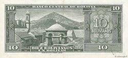10 Bolivianos BOLIVIE  1945 P.139a SUP