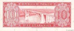 10 Guaranies PARAGUAY  1963 P.196b SUP