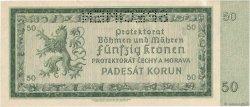 50 Korun BOHÊME ET MORAVIE  1940 P.05s pr.SPL