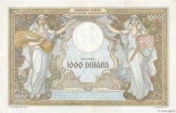 1000 Dinara YOUGOSLAVIE  1931 P.029 SUP+