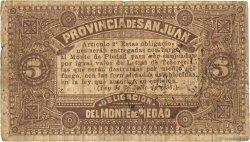 5 Centavos ARGENTINE  1895 PS.2192 TB