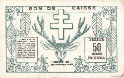 50 Centimes NOUVELLE CALÉDONIE  1943 P.54 TTB+