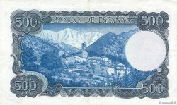 500 Pesetas ESPAGNE  1971 P.153a TTB à SUP