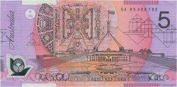 5 Dollars AUSTRALIE  1995 P.51a TTB