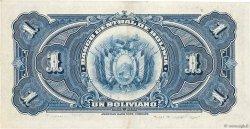 1 Boliviano BOLIVIE  1928 P.118a SUP+