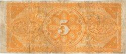 5 Piastres HAÏTI  1875 P.072 TTB