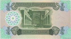 1/4 Dinar IRAK  1979 P.067a SPL