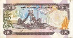 200 Shillings KENYA  1986 P.23Aa TTB