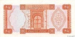 1/4 Dinar LIBYE  1972 P.33b pr.NEUF