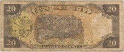 20 Dollars LIBERIA  1999 P.23a TB