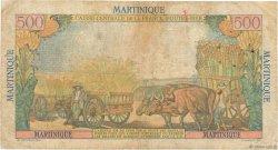 500 Francs Pointe à Pitre MARTINIQUE  1949 P.32 TB