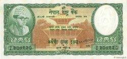 100 Rupees NÉPAL  1961 P.15 SPL