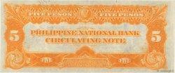 5 Pesos PHILIPPINES  1921 P.053 SUP