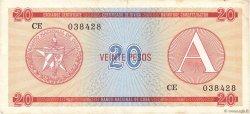 20 Pesos CUBA  1985 P.FX05 SUP