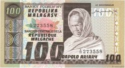 100 Francs - 20 Ariary MADAGASCAR  1974 P.63a NEUF