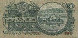 50 Schilling AUTRICHE  1935 P.100 TTB