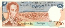 500 Bolivares VENEZUELA  1972 P.056b NEUF