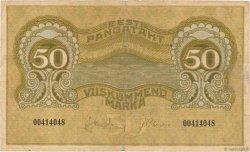 50 Marka ESTONIE  1919 P.55a TB+