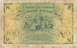 100 Francs MARTINIQUE  1944 P.25 B+