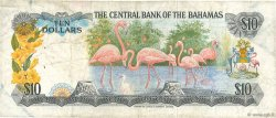 10 Dollars BAHAMAS  1974 P.38a pr.TB