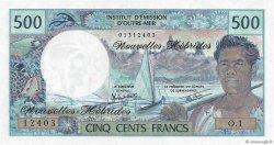 500 Francs NOUVELLES HÉBRIDES  1980 P.19c pr.NEUF