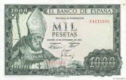 1000 Pesetas ESPAGNE  1965 P.151 SUP