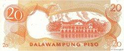 20 Piso PHILIPPINES  1969 P.145b NEUF